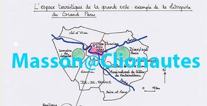 L'espace touristique de la grande ville – Exemple  de la métropole du grand Paris