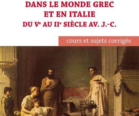 Glossaire Famille et société dans le monde grec et en Italie du VIème au IIème siècle av. J.C