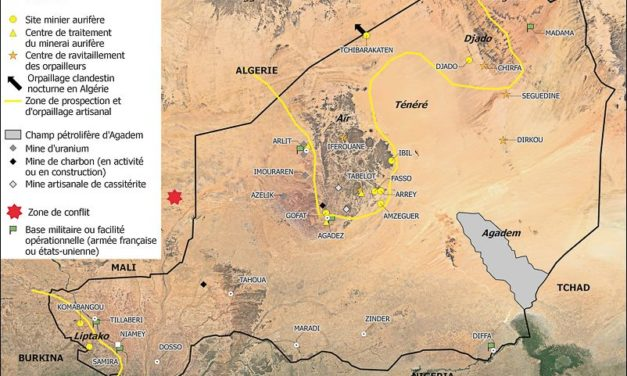 Mines et richesses du sous-sol dans le Sahara/Sahel/Méditerranée