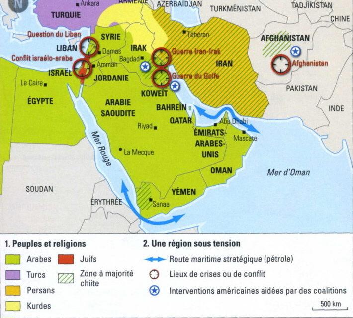 «Question nationale et minorités au Proche et Moyen-Orient 1839-1991»