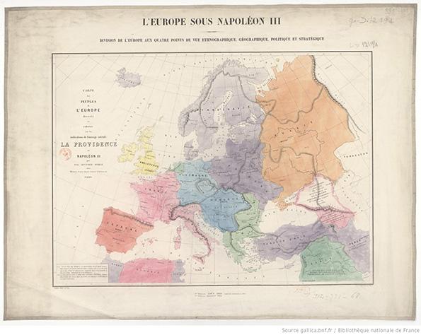 La politique européenne de Napoléon III