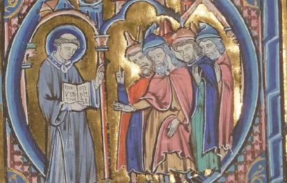 Image illustrant l'article Bible moralisée d'Oxford Paris Londres 1230 de Clio Prépas