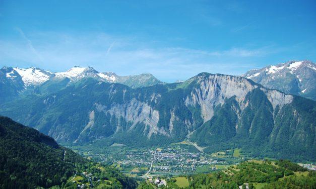 Les montagnes en France (croquis)