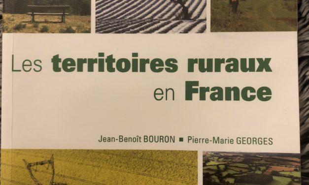 Jean-Benoît Bouron, Pierre-Marie Georges, Les territoires ruraux en France (fiche de lecture)
