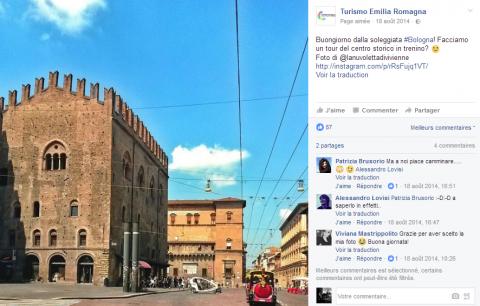Construire l'image touristique d'une région à travers les réseaux sociaux : le cas de l'Émilie-Romagne en Italie et proposition d'analyse de la région du Cap Corse