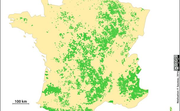 Les conflits dans les espaces de faible densité Agrégation interne 2016