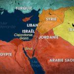 L'eau au Moyen-Orient (Croquis de synthèse)