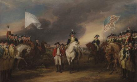 Image illustrant l'article Défaite britannique de Yorktown de Clio Prépas