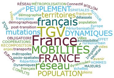 Sujet : la population française dans ses territoires, quelles mobilités ?