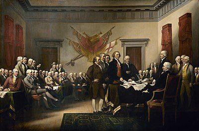 Image illustrant l'article 400px-Declaration_of_Independence_(1819),_by_John_Trumbull de Clio Prépas