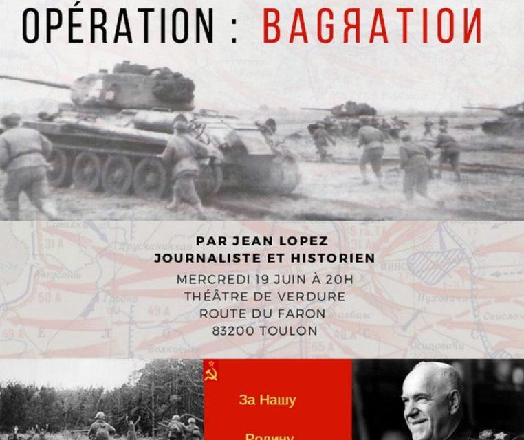 Opération Bagration – Été 1944 – Jean Lopez
