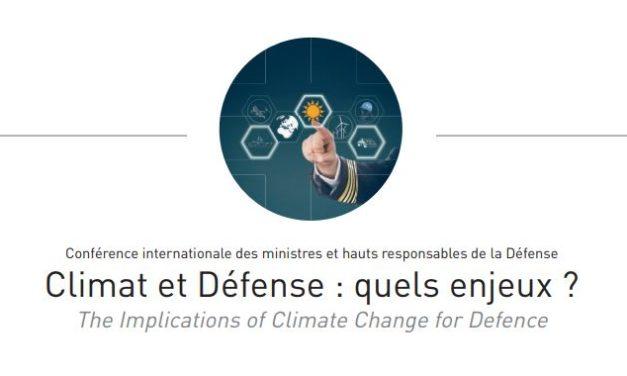 Climat et défense: quels enjeux? COP 21 – Paris 2015