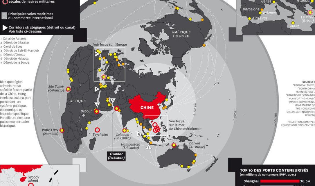 Comment la Chine étend son empire maritime ?
