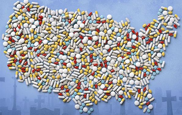 La crise des opioïdes aux États-Unis