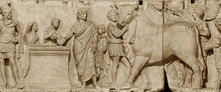 Image illustrant l'article Altar_Domitius_Ahenobarbus_Louvre_n2b de Clio Prépas