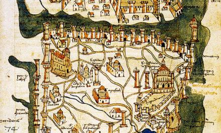 Image illustrant l'article Map_of_Constantinople_(1422)_by_Florentine_cartographer_Cristoforo_Buondelmonte de Clio Prépas