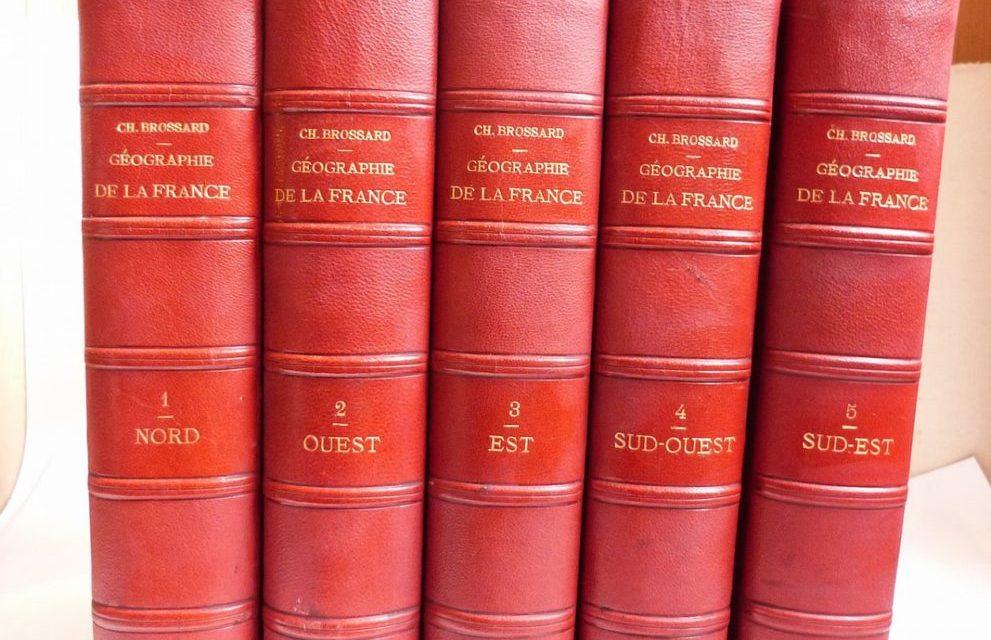 Recension des livres, des articles mis en fiches pour la question de la géographie de la France pour les concours externe et interne