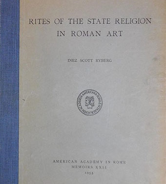 Rites of the state religion in Roman art
