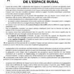 Image illustrant l'article Géofiche Espace rural - Géographie rurale 1 de Clio Prépas