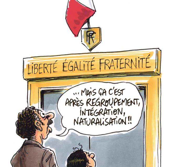 Être immigré en France (XIX-XXe)
