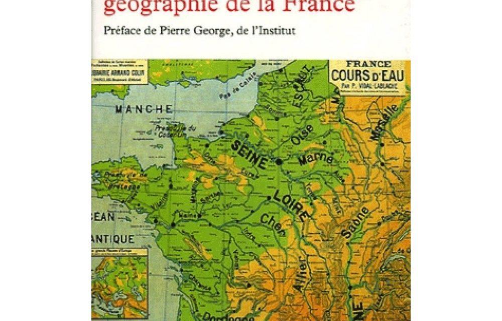 Annales Géographie de la France