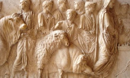 Suovetaurile au dieu Mars, musée du Louvre, Paris