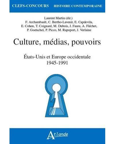 Laurent Martin – Radio et télévision, Atlande Culture, médias, pouvoirs, p 291 -321.