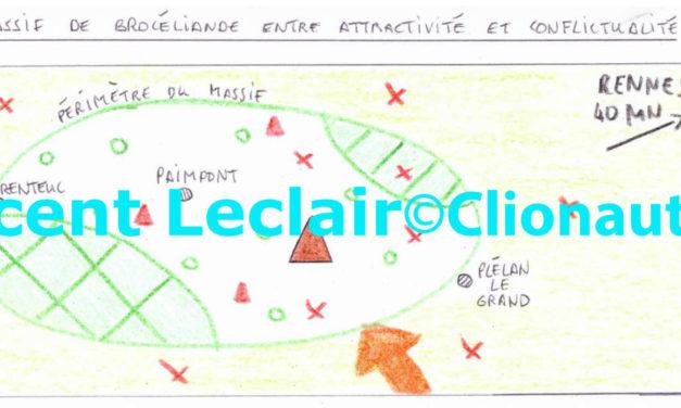 Le massif de Brocéliande, entre attractivité et conflictualité