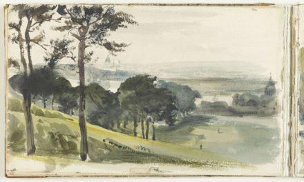 Image illustrant l'article Vue de la campagne anglaise avec la Tamise, et le collège de Greenwich de Clio Prépas