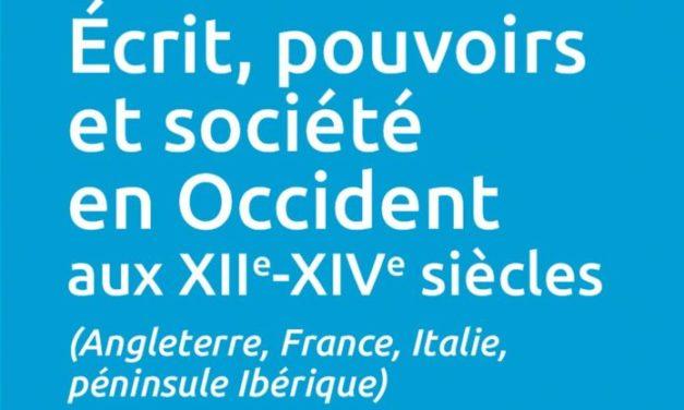 Les langues de l'écrit : entre essor des langues vernaculaires et reflux du latin entre le XIIe et le XIVe siècle
