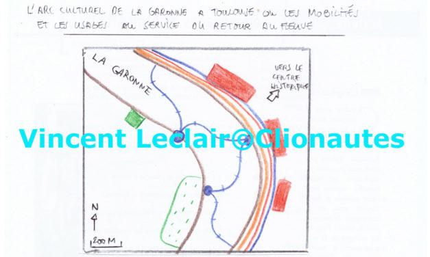 L'arc culturel de la Garonne à Toulouse – Mobilités et usages