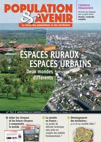 Jean-FrançoisLéger – ESPACES RURAUX ET ESPACES URBAINS : DEUX MONDES DIFFÉRENTS