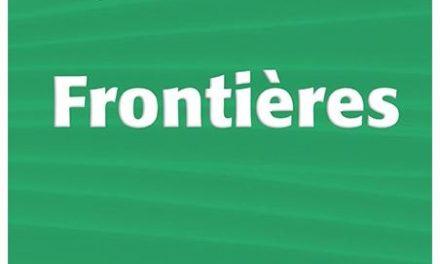 La frontière, des représentations au concept .Couverture du livre de Frontières - Presses universitaires de Bordeaux - 2017/06