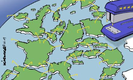 Dessin de Michel Kishka, le plus célèbre des caricaturistes politiques israéliens (d'origine belge). 2009