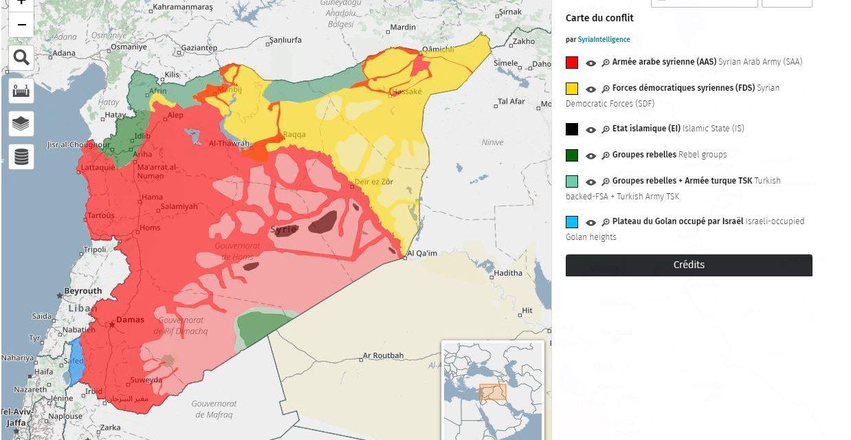 La Syrie dans son environnement régional et international