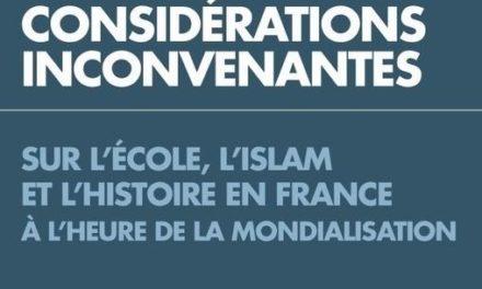 Islam, école, histoire en France