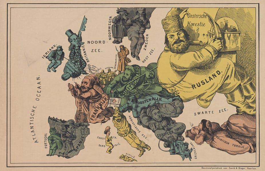 Les relations internationales en Europe de 1871 à 1914