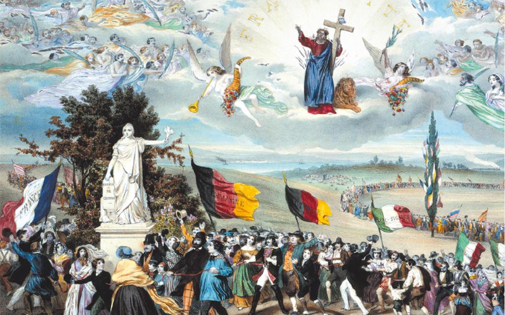 L'équilibre européen, entre la Sainte Alliance et l'Unité Allemande 1815-1870
