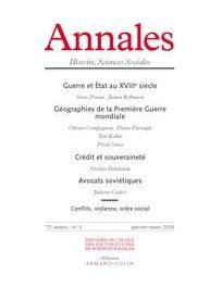 Image illustrant l'article Annales, janvier-mars 2016 de Clio Prépas