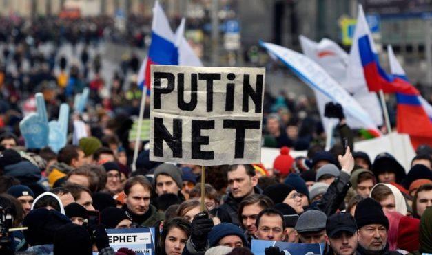 La Russie et le contrôle d'Internet