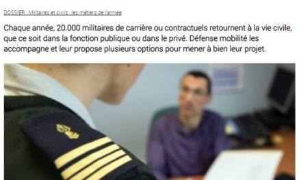 Reconversion des militaires