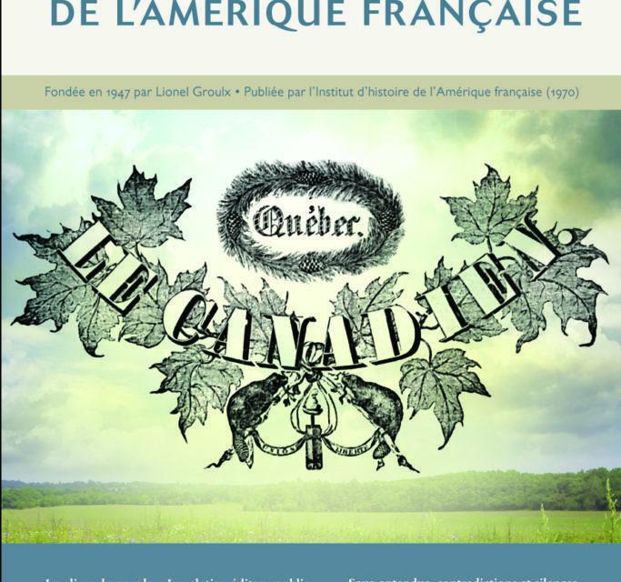 « A la recherche de sa propre vie : Charles de Menou, sa famille et sa carrière en Acadie »