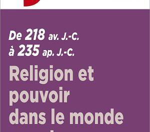 Religion et pouvoir dans le monde romain de 218 avant J.C. à 235 après J.C.